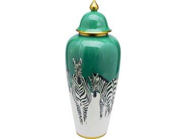 KARE Kiste »Deko Gefäß Zebras 63cm«