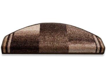 Floordirekt Stufenmatte »Ikaria 1A«, Halbrund, Höhe 8 mm, braun, Braun
