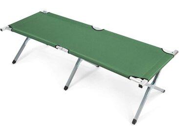COSTWAY Klappbett »Campingbett Feldbett Einzelbett« bis 205 kg belastbar, Grün
