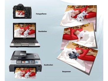 JOKA international Leinwandbild »Leinwandbilder zum Selbstdrucken, 3er Set«, DIY Leinwandbilder, 3er Set (6 Stück)