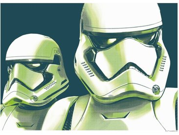 Komar KOMAR Wanddekoration »Star Wars Faces Stormtrooper«, ohne Rahmen, bunt, 40 cm, bunt