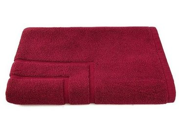 grace grand spa Badematte , Höhe 1 mm, mit trittfester Struktur, rot, bordeaux