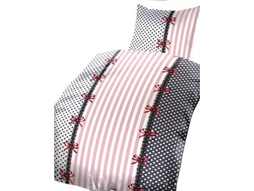 Leonado Vicenti Bettwäsche »Marie«, mit Streifen, Punkte und Schleifen