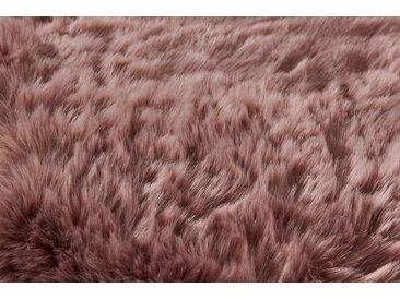 heine home Teppich Synthetik Lammfell Synthetik Lammfell, lila, mauve