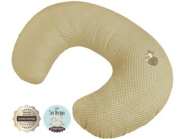 SEI Design Stillkissen »Schnecke«, mit Reißverschluss, natur, beige