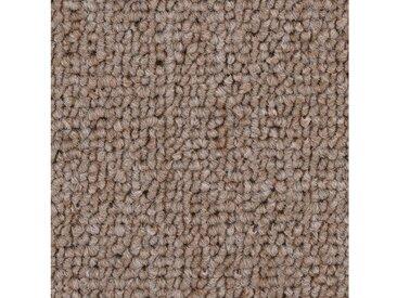 Bodenmeister BODENMEISTER Teppichboden »Schlinge gemustert«, Meterware, Breite 400/500 cm, natur, dunkelbeige