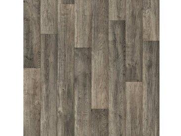 Andiamo Vinylboden »Act«, Breite 300 und 400 cm, Meterware, Stabparkett, grau, grau