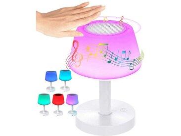 kueatily Nachttischlampe »Nachttischlampe mit Bluetooth-Lautsprecherlampe, LED-Nachtlicht, Stimmungslicht, Tischlampe
