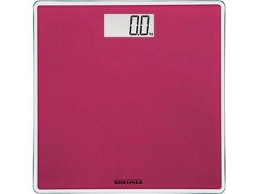 Soehnle Personenwaage »Style Sense Compact 200«, rot, pink