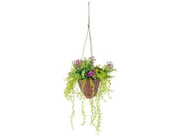 Kunstpflanze »Hängeampel«, höhe 70 Zentimeter