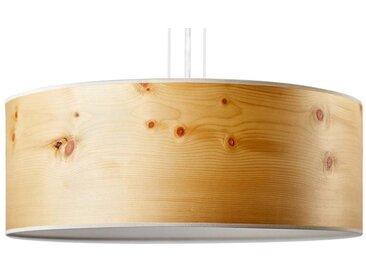 LeuchtNatur Pendelleuchte »Holz mit Diffuser Discus Zirbe«