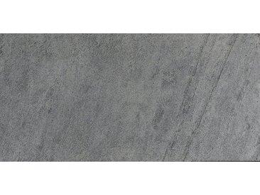 SLATE LITE Dekorpaneele »Silver Grey«, Naturstein, Stärke 1,5 mm, 122 x 61 cm, grau, 122 x 61cm, natur/silbergrau