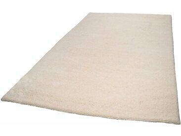 THEKO Wollteppich »Royal Dou 1«, rechteckig, Höhe 22 mm, echter Berber, handgeknüpft, weiß, wollweiß