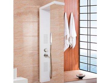HOME DELUXE Duschsäule »Cascata«, Höhe 142 cm, Breite 20 cm, weiß, weiß
