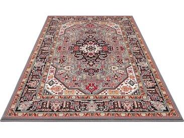 NOURISTAN Teppich »Skazar Isfahan«, rechteckig, Höhe 9 mm, Kurzflor, Orient-Optik, grau, grau