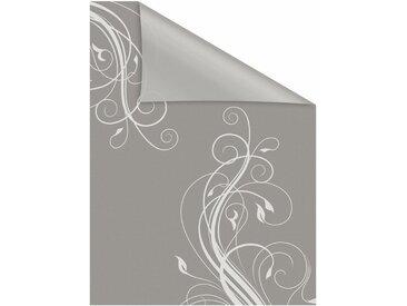 LICHTBLICK Fensterfolie »Floral«, blickdicht, strukturiert, selbstklebend, Sichtschutz