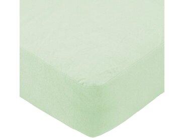 SETEX Matratzenschoner »Frottee Spannlaken wasserdicht« , grün, grün