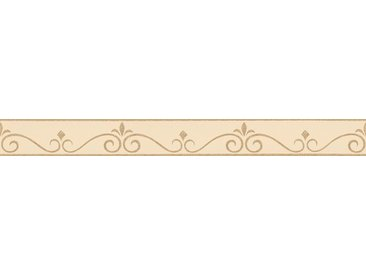 A.S. Création Bordüre »Only Borders«, glatt, geometrisch, selbstklebend, braun, creme-gold