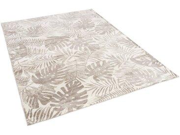 Pergamon Designteppich »Designer Teppich Retro Montana Blätter«, Rechteckig, Höhe 13 mm