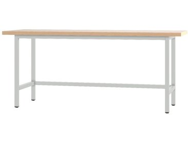 PADOR Werktisch »31 WT«, grau, 85.5 cm, grau