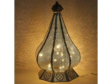 Guru-Shop Laterne »Orientalische Metall Laterne in marrokanischem..«