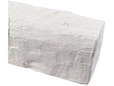 Homestar HOMESTAR Dekorpaneele 12 x 12 cm, Länge 2 m, Holzimitat, weiß, weiß, weiß