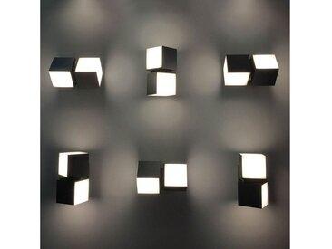 Lutec LED Außen-Wandleuchte »Drehbare LED-Cuba IP54 Anthrazit«