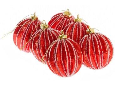 Weihnachtsbaumkugel »Carambola« (12 Stück)