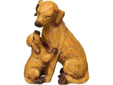 Home affaire Dekofigur »Hund mit Welpe«, klein