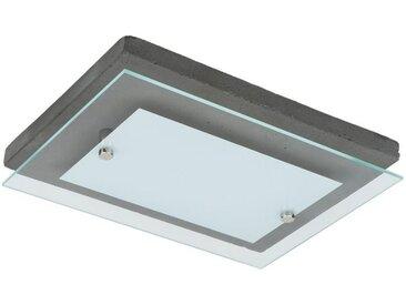 SPOT Light Deckenleuchten »Angus«, 1-flammig, Wertige Materialien: echtes Beton und Glas, festintegriertes LED-Leuchtmittel, Naturprodukt - nachhaltig