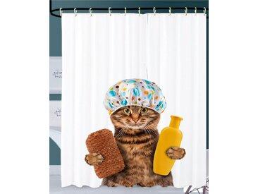 Sanilo Duschvorhang »Shower Cat« Breite 180 cm, 180 x 200 cm