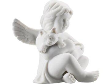Rosenthal Engelfigur »Engel mit Katze« (1 Stück), Biskuitporzellan, unglasiert