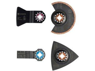 BOSCH Bosch Werkzeug-Zubehör-Set »PMF Fliesen, 4-tlg.«, schwarz, schwarz