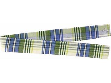 VHG Raffhalter »Lene«, Gardinen, (1-tlg), in Leinenoptik, blau, blau