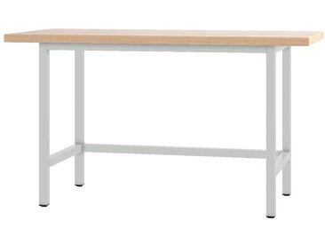 PADOR Werktisch »21 WT«, grau, 85.5 cm, grau