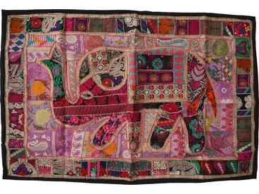 Guru-Shop Wandteppich »Indischer Wandteppich Patchwork Wandbehang,..«, Höhe 100 mm