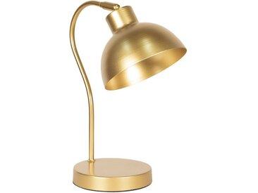 Clayre & Eef Tischleuchte » Schreibtischlampe 15*31*38 cm Goldfar«