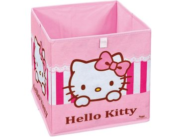 Home affaire Faltbox »Hello Kitty«, rosa, pink
