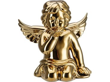 Rosenthal Engelfigur »Engel Handkuss« (1 Stück), Biskuitporzellan, goldfarben