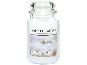 Yankee Candle Duftkerze »Classic Housewarmer Groß Fluffy Towels«