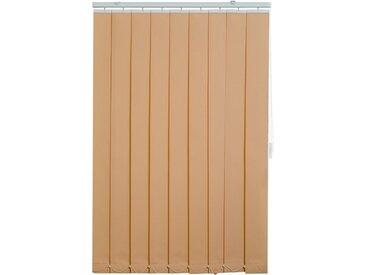 sunlines Lamellenvorhang, mit Bohren, natur, beige