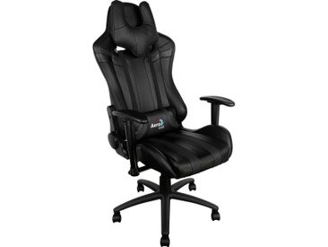 Aerocool Gaming-Stuhl »AC120 AIR Gaming Chair«, schwarz, Schwarz