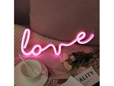 TOPMELON LED Nachtlicht »LED Neonlicht«, rosa, Love2-Rosa