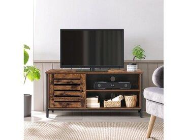 VASAGLE TV-Schrank »LTV049B01« TV-Tisch bis 50 Zoll, TV-Regal, Fernsehtisch vintage