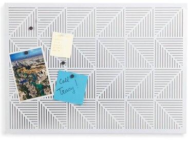 Umbra Pinnwand »Trigon Weiß«