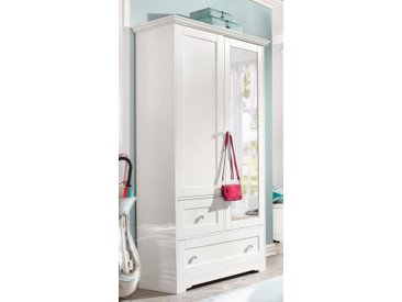 Home affaire Garderobenschrank »Lourdes« mit Spiegel