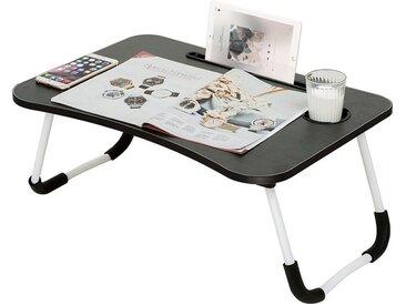 AREOUT Laptoptisch » Großer Tablet-Schreibtisch-9«, Laptoptisch fürs Bett, Faltbarer Notebooktisch Betttisch, Lapdesk mit Schublade und Bücherständer für Arbeiten