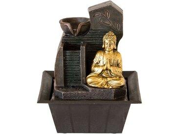 NATIV Haushalt LED Dekoobjekt, Zimmerbrunnen, Mudra, Anjali, mit LED Beleuchtung, Buddha, verschiedene Motive, Anjali