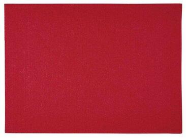 BUTLERS Platzset, »FELTO«, rot, Rot