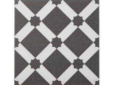 Casa Moro Fliesenaufkleber » Orientalische Fliesen Emir 20x20 cm 1 qm in Zementoptik, Wandfliesen & Bodenfliesen